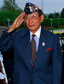 Former Philippine President (then Lieutenant) Fidel Ramos; platoon commander that took Hill Eerie