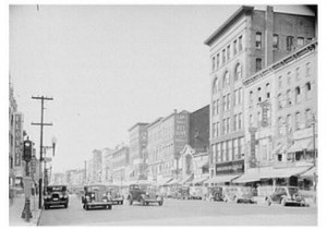Manchester, NH; circa 1930-40's when Jim O'Leary was growing up
