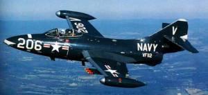 Grumman F9F Panther jet