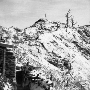 3 RAR defenses on the Jamestown Line, Jan. 1953