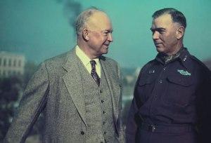 Pres. Eisenhower & Gen. Van Fleet