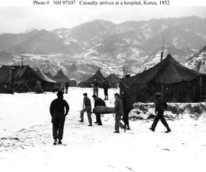 Field hospital, Korean War