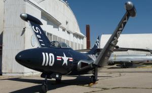 Grumman F9F-5 Panther jet
