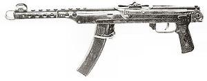 Soviet burp gun