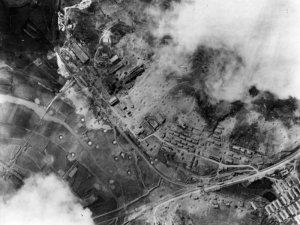 Bombing raid