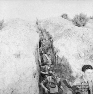 3 RAR, trench fighting patrol, July 1953
