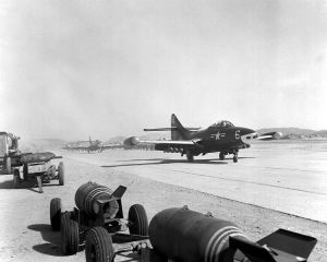 "F9F ""Able Eagles"" Pohang 1953"