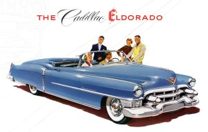 Take a ride in your new 1953 El Dorado