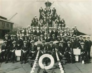 Crew of the HMNZS Hawae, Korean War