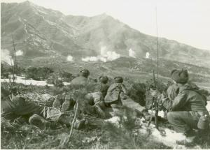CCF in action, Korean War