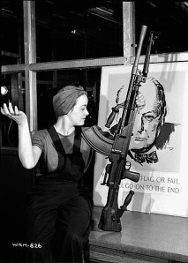 "Ronnie, the ""Bren Gun Girl"""
