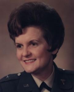 BrigGeneral Anna Mae McCabe Hays