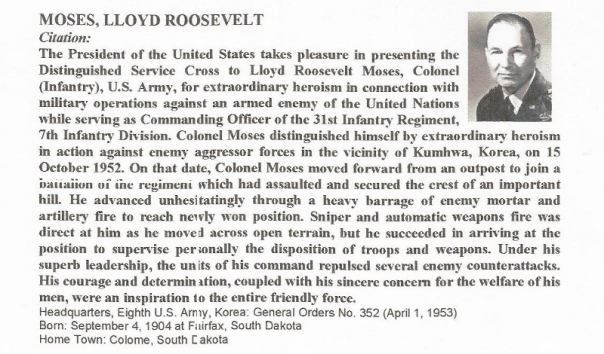 Distinguished Service Cross recipient