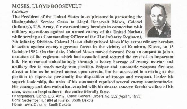 Distinguished Service Cross recipient