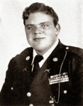 Dan Blocker's High School Yearbook photo