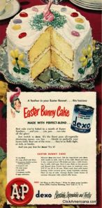 Fancy baking in the '50s!!