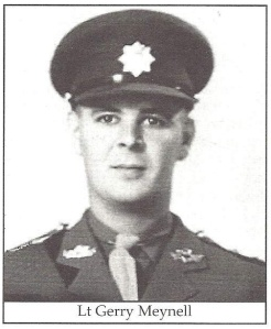 Lt. Gerry Meynell, 3RCR