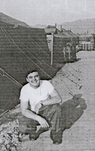 Earl Hufford in Korea