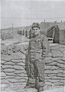 Earl Hufford w/ the 11th Evac hospital