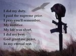 Soldier's Prayer
