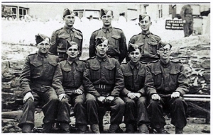 X-Troop, George Lane is standing, back row center