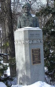 Monument at Kildonan Park, Winnipeg