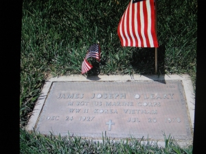 James J. O'Leary, my uncle, photo courtesy of Mustang Koji.