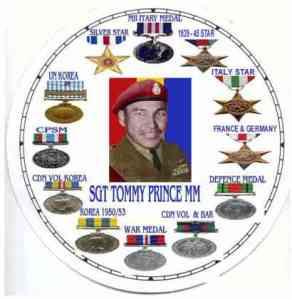Medal array