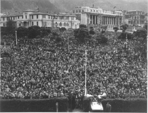 Wellington on V-E Day