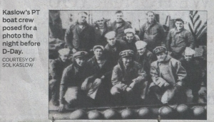 The crew of PT 508