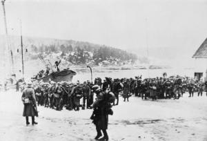 Germans amass on Norway coast, 9 April 1940