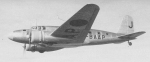 "The Japanese newspaper's transport aircraft ""Asagumo"", a MC-20-I, 1940's"