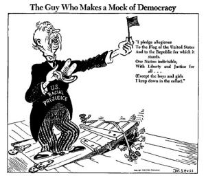 Dr. Seuss' attack on prejudice.