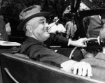 FDR campaigning in Warms Springs, GA, 4 April 1939