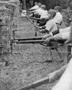 Japanese gym class, 1930