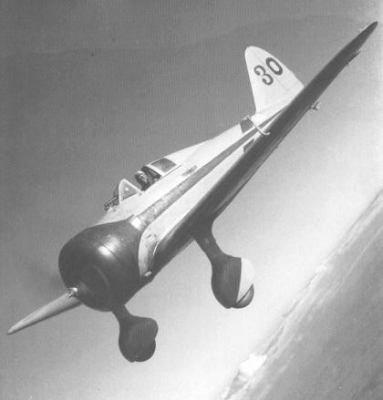 Nakajima Ki-27 Ko: Celestial Elegance.