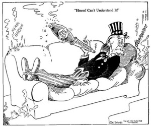 the political side of Dr. Seuss
