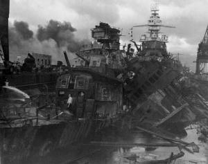 USS Cassin & Downs