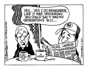 A day of infamy Pearl Harbor (by Dan Saad)