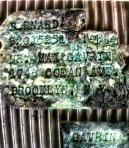 Dog tags of Pvt. Bernard Gavin