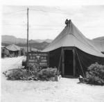 HQ tent of the 8063rd MASH, Korea