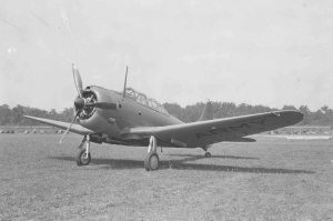 the first Douglas A-24, S/N#41-15746 (US Air Force photo)