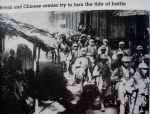 British & Chinese forces in Burma