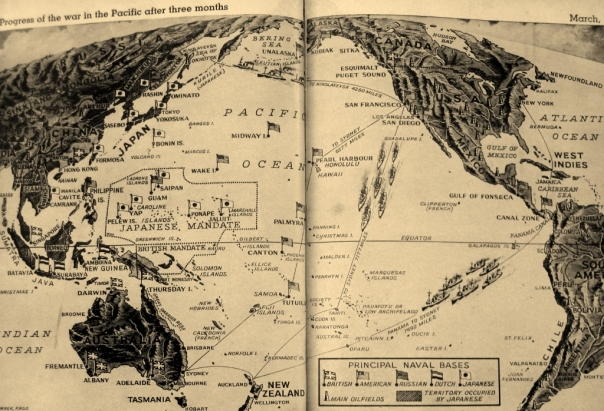 Pacific map after March 1942