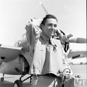 "Lt. Edward ""Butch"" O'Hare, Feb. 1942"