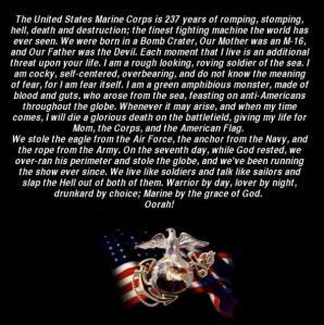 Marine motto