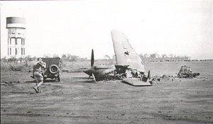 Lt. Walker's P40E Kittyhawk