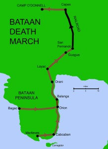 Luzon, P.I., Bataan Death March