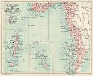 Andaman Island area