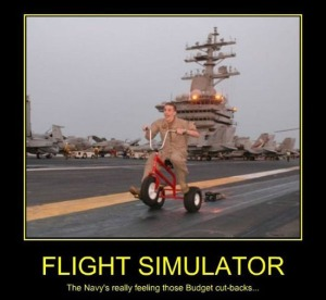 THE NEW FLIGHT SIMULATOR IS IN!!!!!